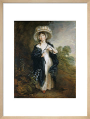 Miss Elizabeth Haverfield print