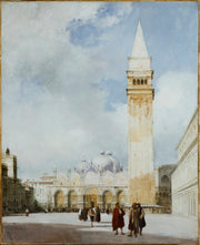 Venice: the Piazza San Marco print
