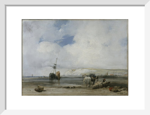 On the Coast of Picardy print