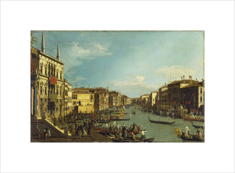 Venice: a Regatta on the Grand Canal