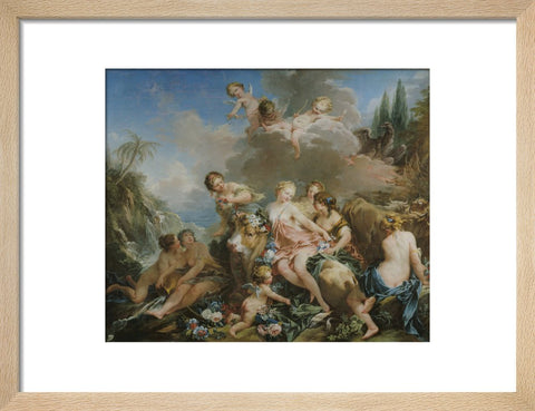The Rape of Europa print
