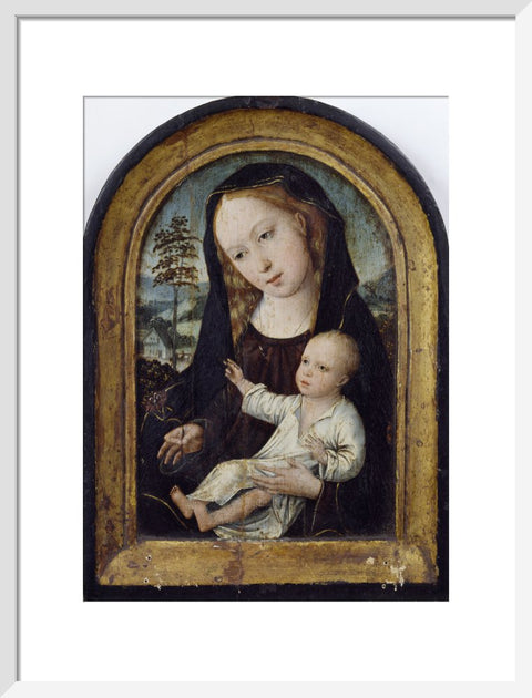 The Virgin and Child print