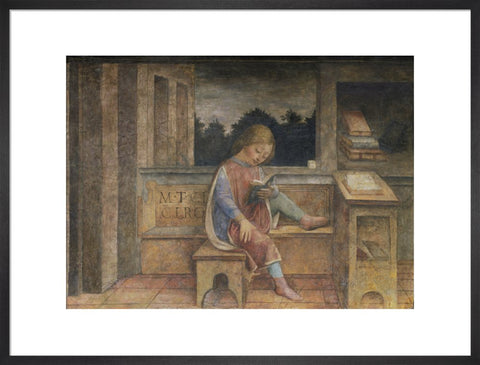 The Young Cicero Reading print