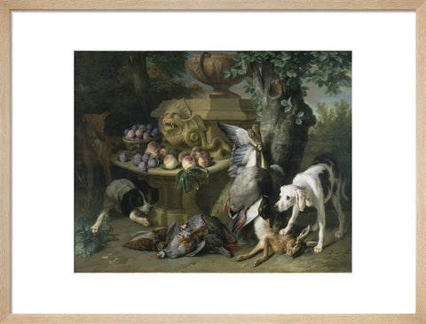 Dogs, Dead Game and Fruit print