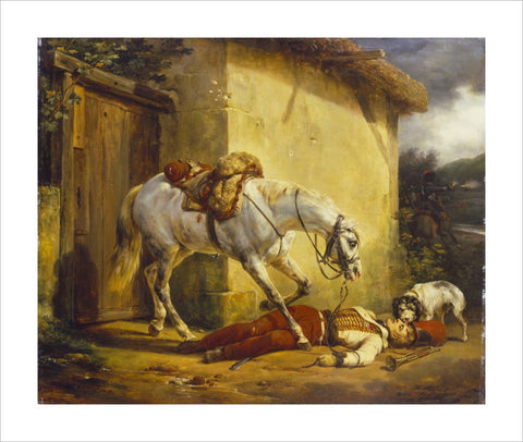 The Wounded Trumpeter print