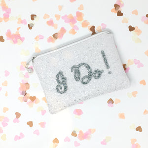 I DO! Wedding Day Bride Clutch