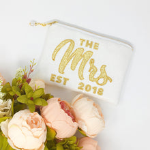 The Mrs Clutch Bag with Year of Marriage