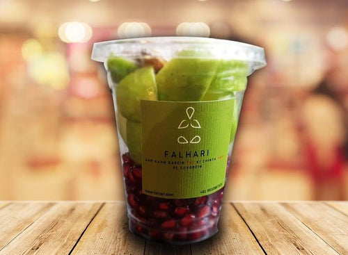 Two Fruit Almond Glass  (220 gm)2 Fruits with Almond - Falhari