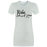 Babe of Honor Script Tee (5 colors)