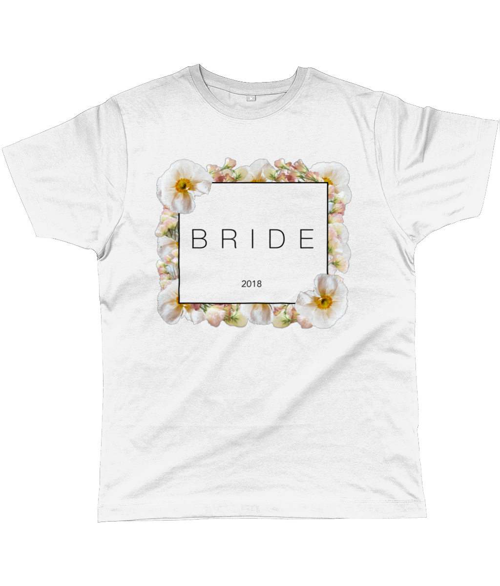 BRIDE Floral Block Unisex Fit Tee - 2018 - UK and EU
