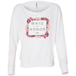 Maid of Honor Floral Long-Sleeve Top (2018)