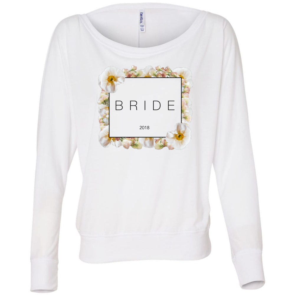 Bride Floral Long-Sleeve Top (2018)