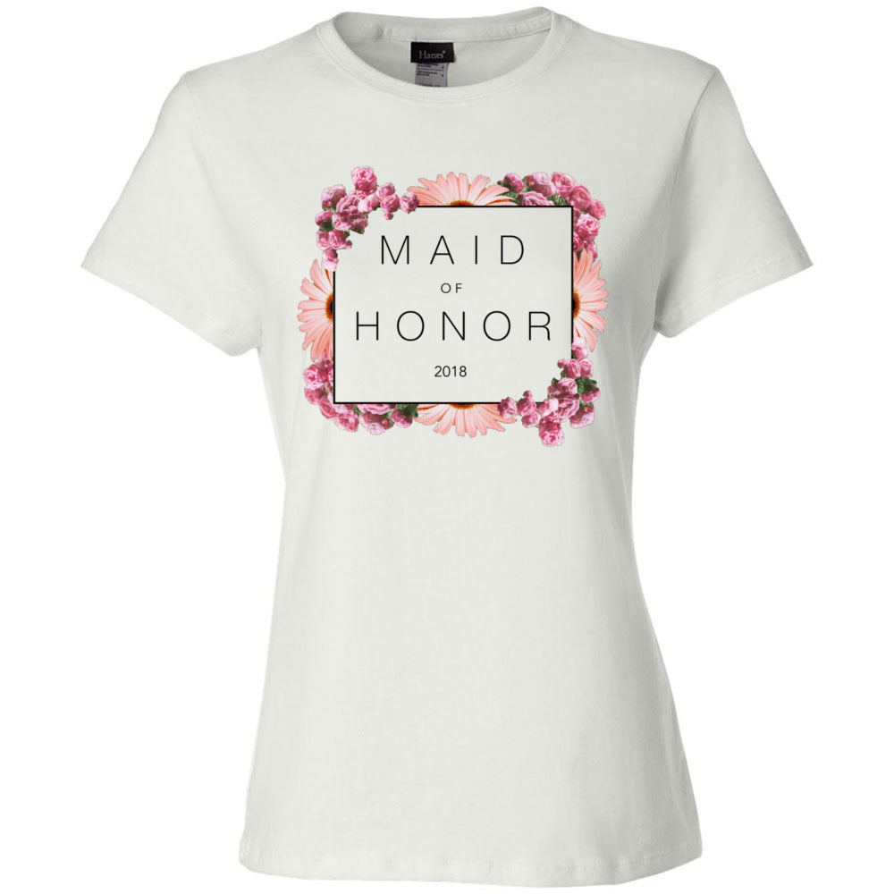 Maid of Honor Floral Tee (2018)