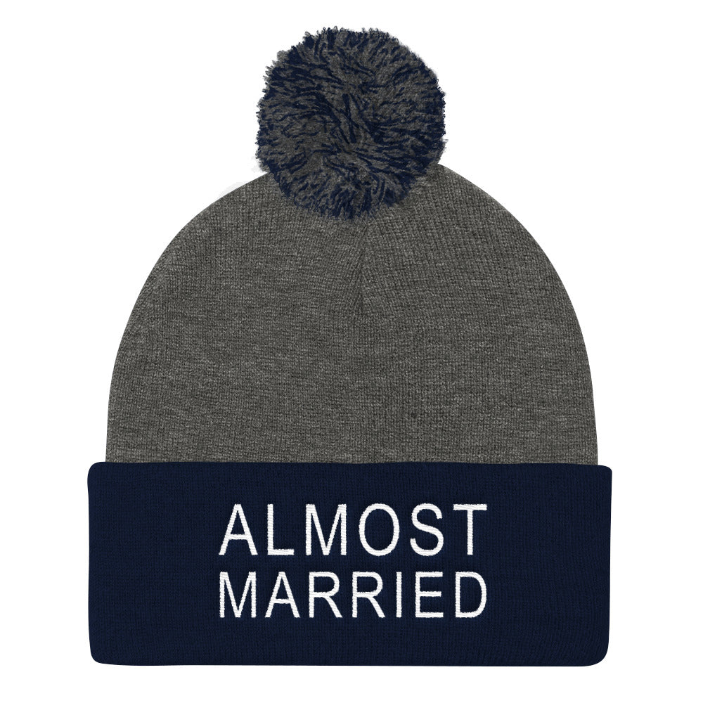 Almost Married Pom Beanie
