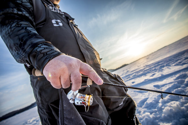 The Ultimate Ice Trolling Rod: Croix Custom Ice Spoon Hopper