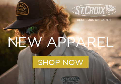 St. Croix Expands Apparel Program for Anglers