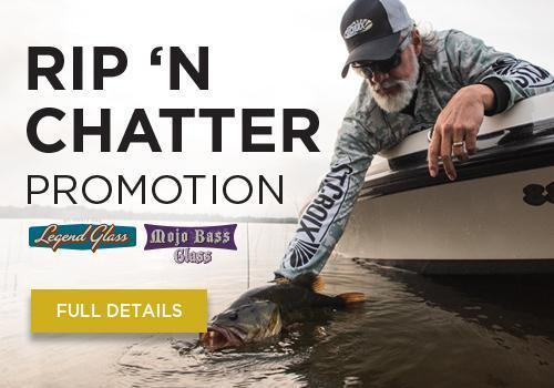 Bassmaster Classic RIP-N-CHATTER rod promotion