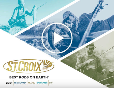 Best Fishing Rods 2021 St. Croix Announces NEW Rod Series and Models for 2021   St. Croix Rod