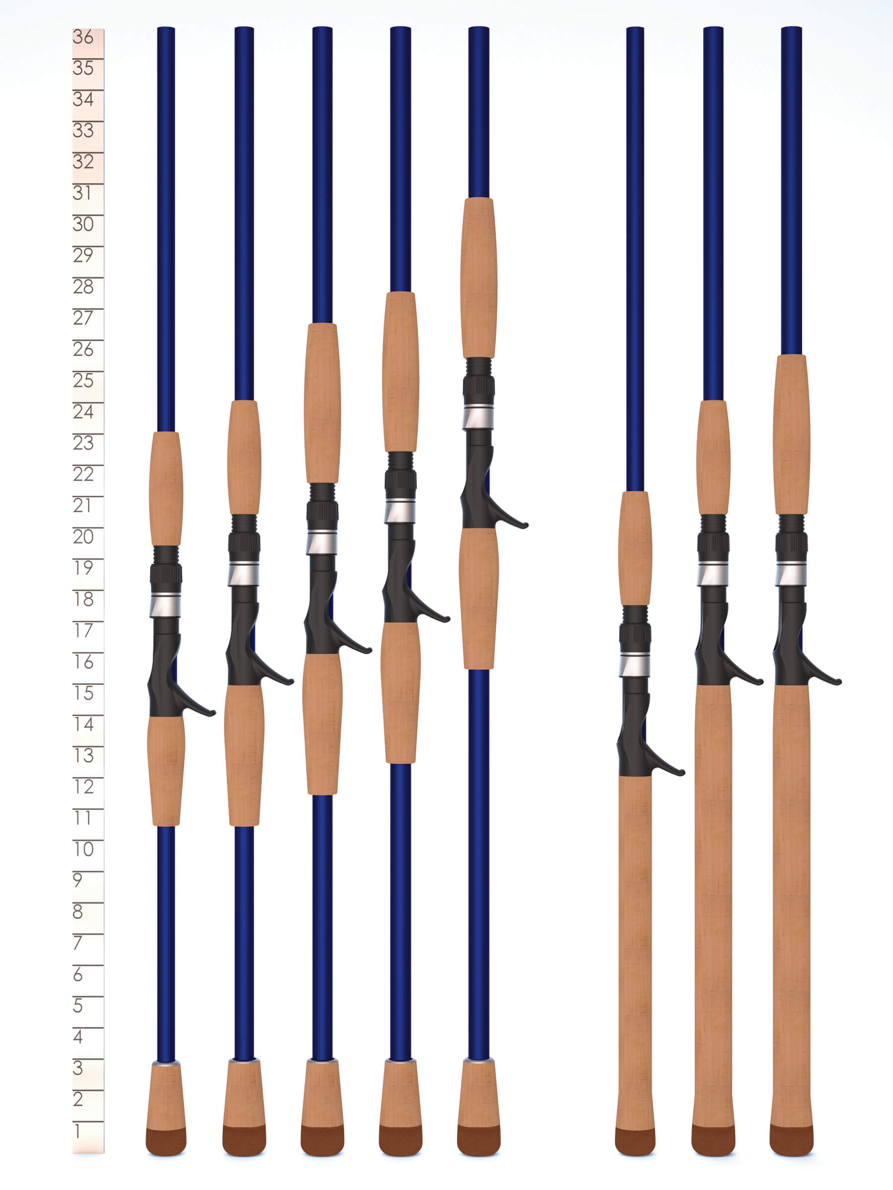 legend tournament musky handle chart