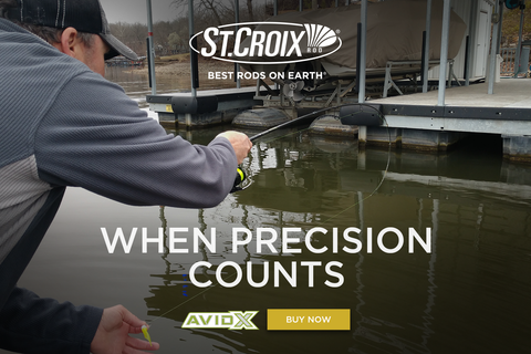Dock Shooting For Crappies - St  Croix Rod