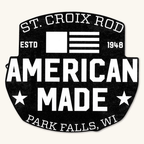 "American Made 5"" Decal"