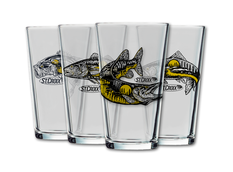 4-PC Pint Glass Set