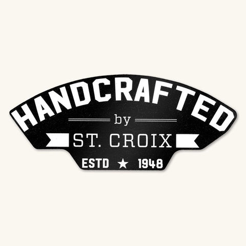 "Handcrafted 5"" Decal"