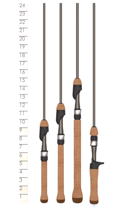 PANFISH SERIES CASTING RODS