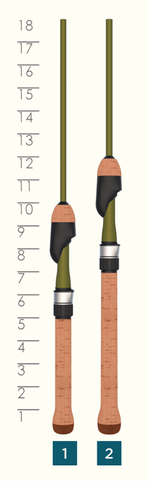 TROUT SERIES SPINNING ROD HANDLES