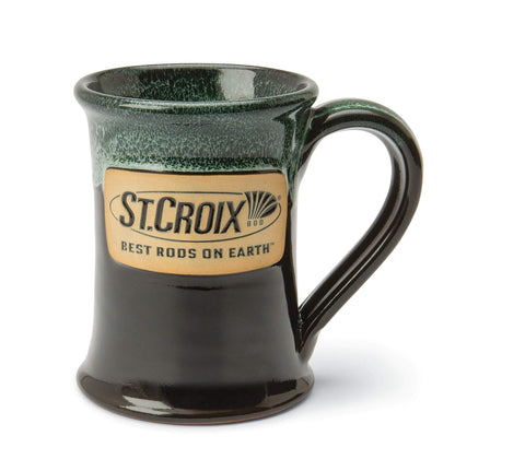 St. Croix Dark Green Coffee Mug - (STCMUGBG)