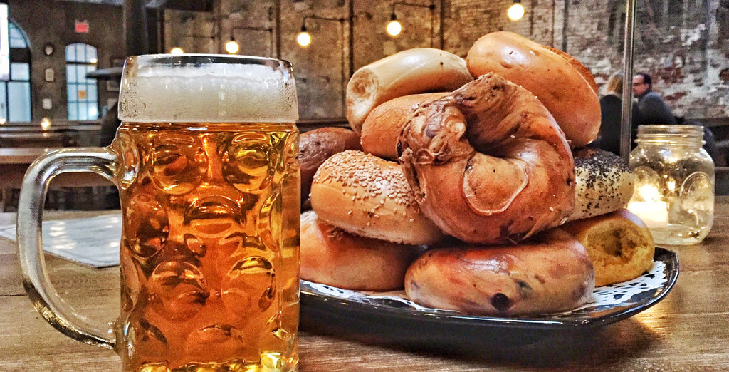It started with a beer and a bagel….
