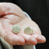 Personalised Constellation Disc Cufflinks