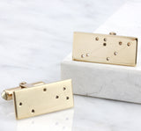 Sterling Silver & 9ct Yellow Gold Constellation Cufflinks