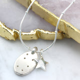 Constellation & Stars Nugget Necklace - Soremi Jewellery