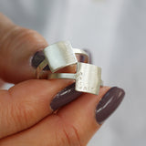 Personalised Mantra Ring
