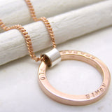 Unique Gold Personalised Jewellery