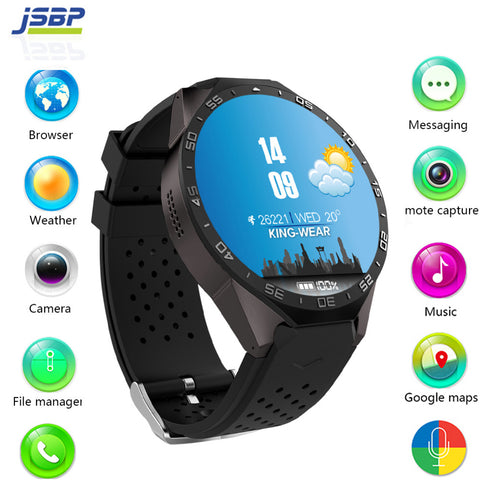 Montre Smart watch kingwear Kw88 android 5.1 - 3G - wifi