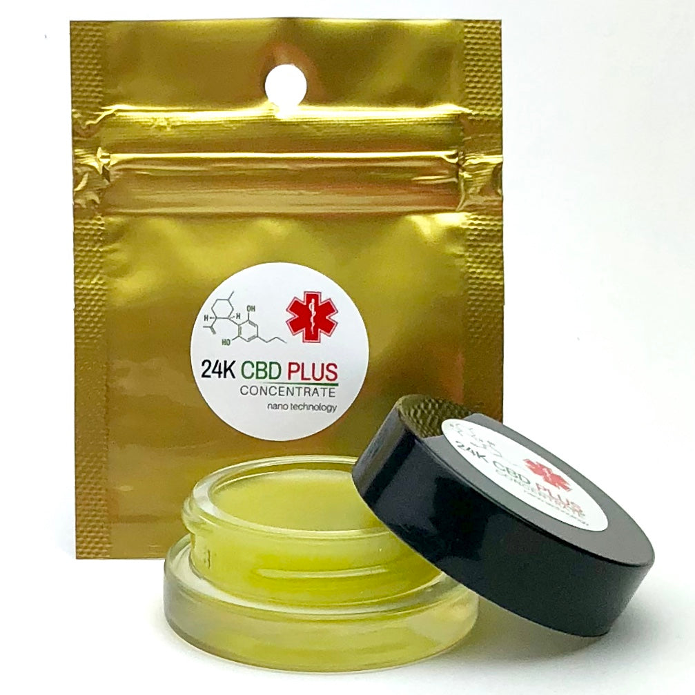 100mg Travel Size CBD Oil Balm Ultra Potent