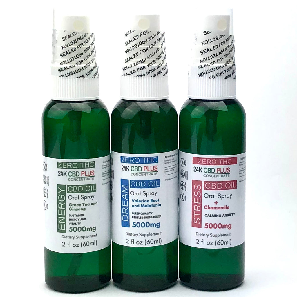 5000mg 0% THC - Nano CBD Oil  SPRAY  Anti- STRESS,  SLEEP-Aid  or ENERGY-Boost