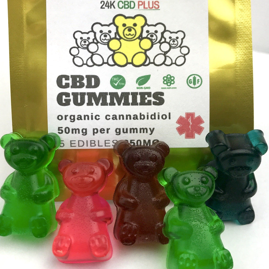 Assorted Flavors Nano CBD Gummy Bears