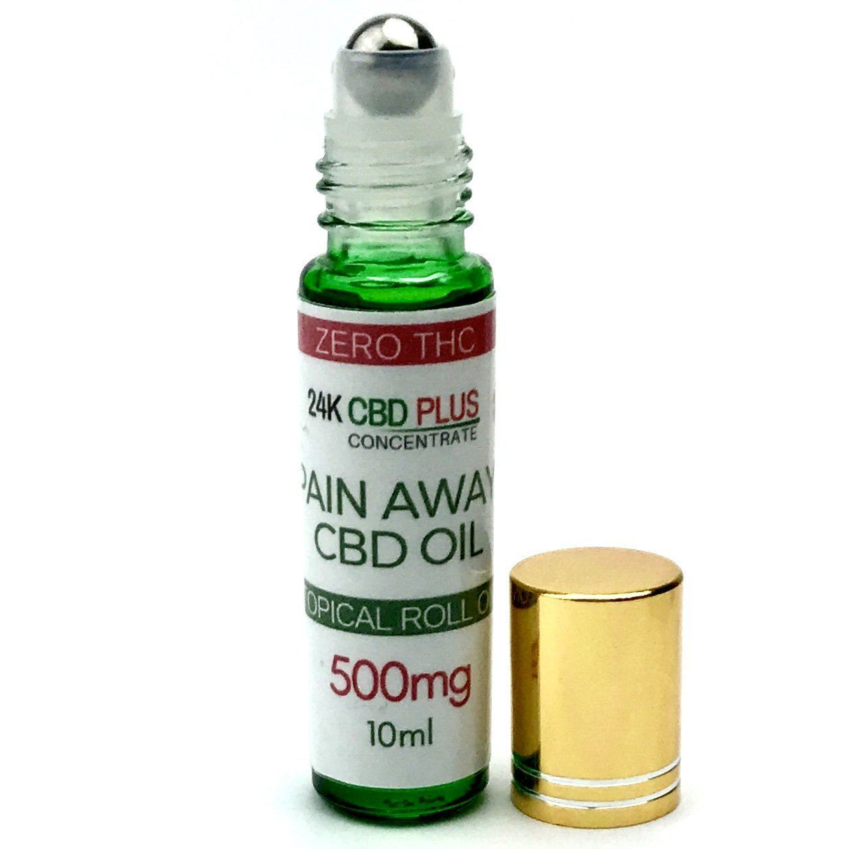 Pain Remedy - Pure CBD OIL PAIN RELIEF Anti Inflammatory Roll On Stick - 0% THC