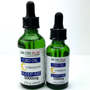 Sleep Aid CBD Oil Oral Drops
