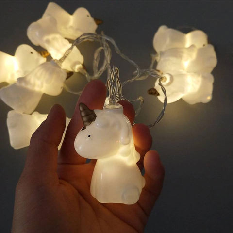 Cute Unicorn String lights: (Set of 10pcs)