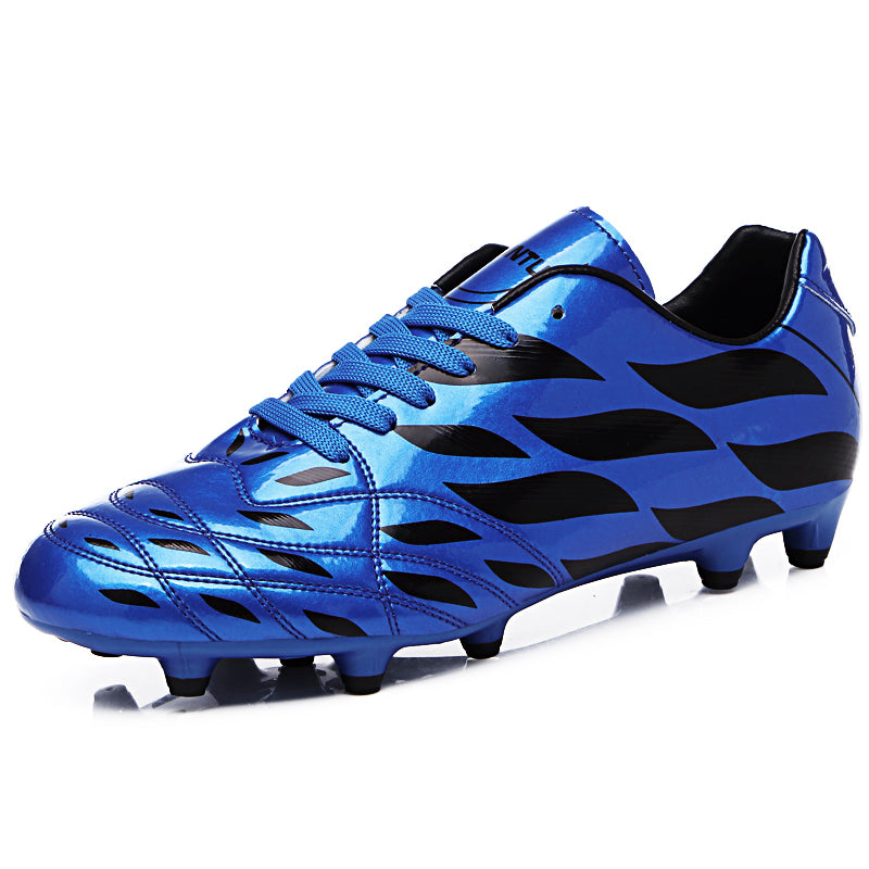 b3fd93a4ee4 New High Ankle Men Football Shoes Men Lovers Long Spikes Training Football  Boots Soccer Shoes Men