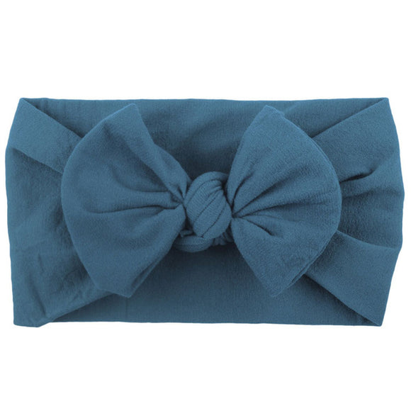 The Shannon Nylon Bow Headband