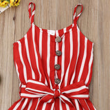 The Holly Striped Romper