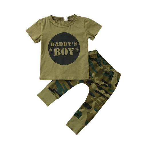 The Silas Daddy Camo Set