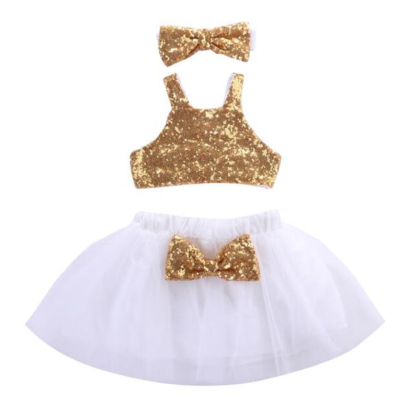 The Athena Sequin and Tutu Set
