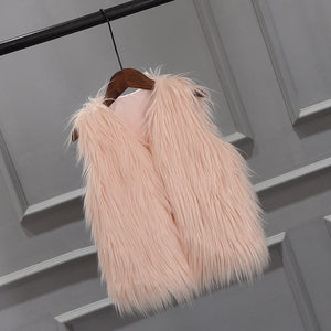 The Beatrice Fur Vest