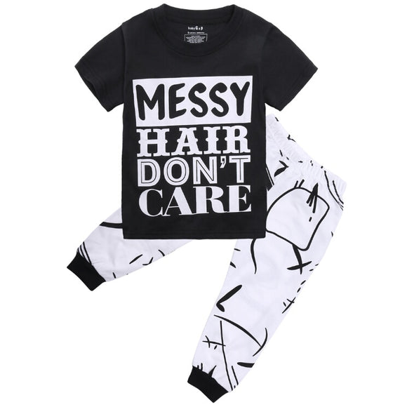 The Jacob Messy Hair Set